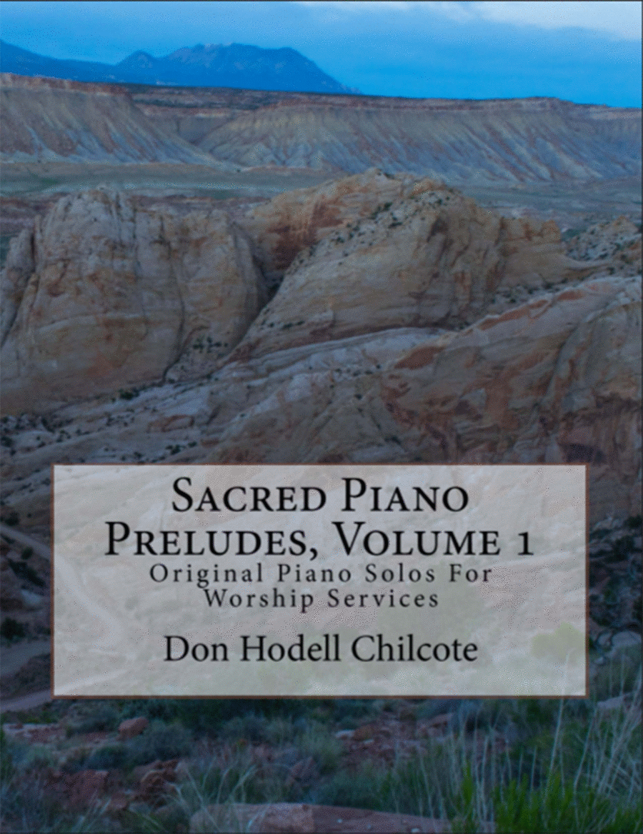 Sacred Piano Preludes Volume 8: Original Piano Solos for Worship Services by Don