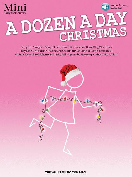 A Dozen a Day Christmas Songbook - Mini