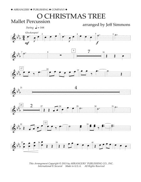 O Christmas Tree - Mallet Percussion