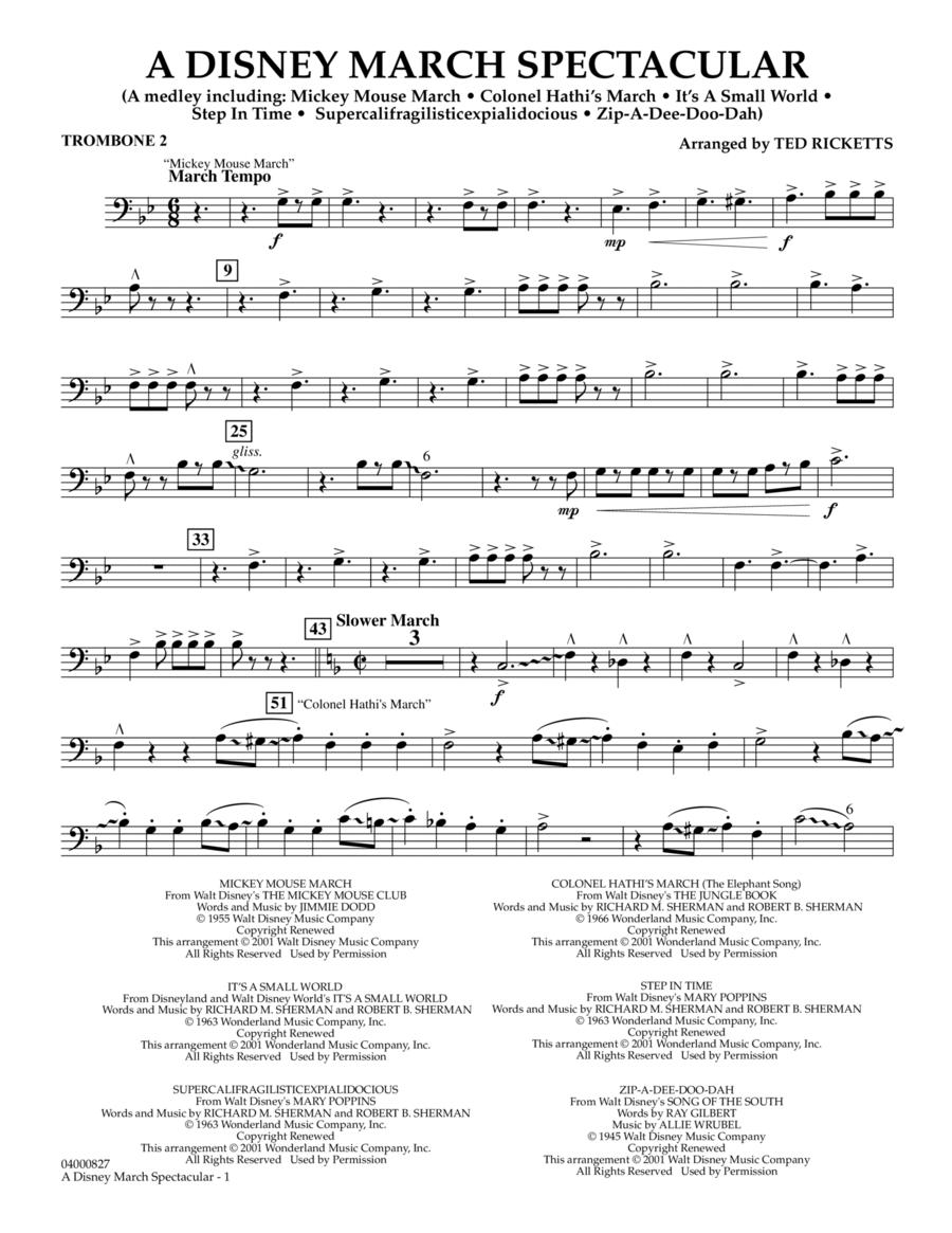 A Disney March Spectacular - Trombone 2