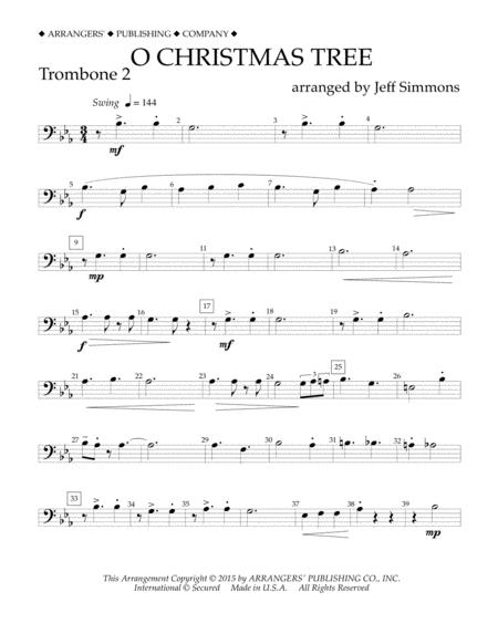 O Christmas Tree - Trombone 2