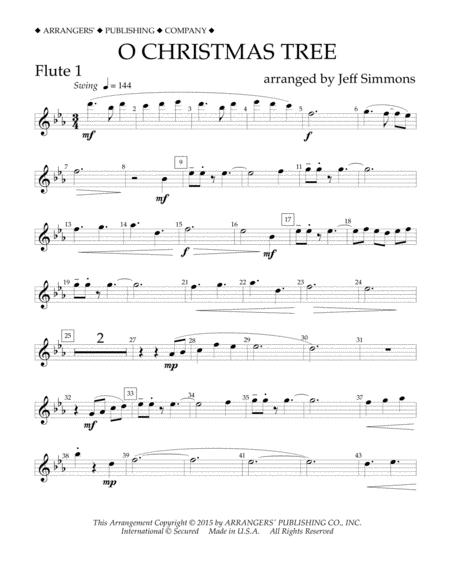 O Christmas Tree - Flute 1