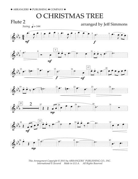 O Christmas Tree - Flute 2