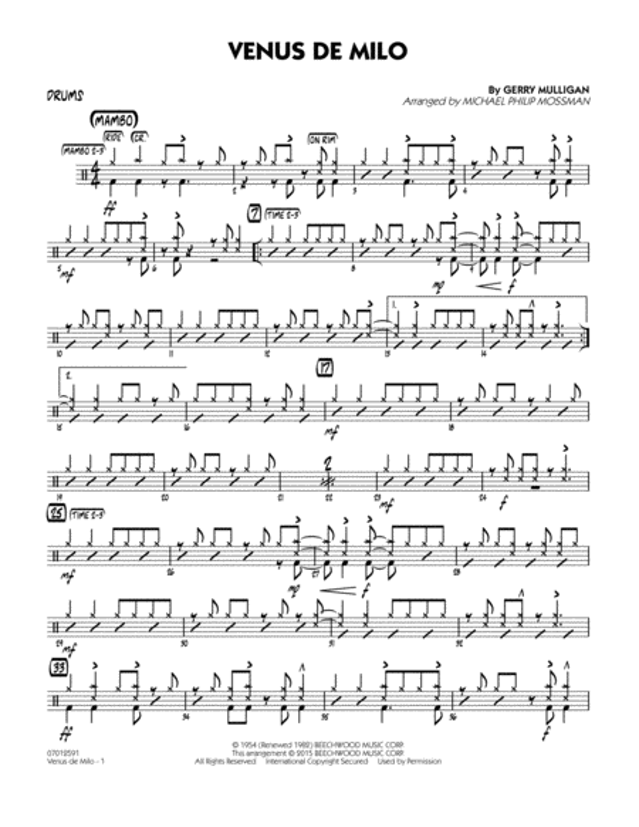 Venus de Milo - Drums