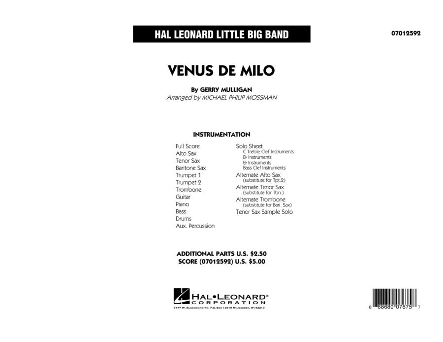 Venus de Milo - Full Score