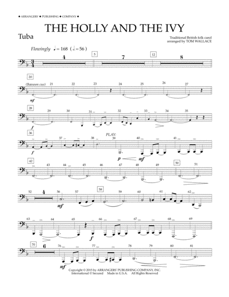 The Holly and the Ivy - Tuba