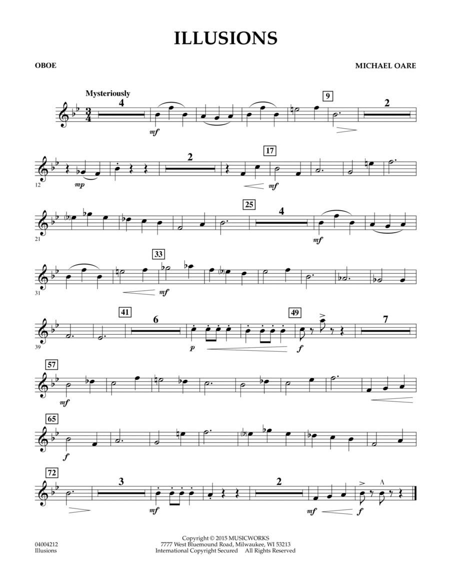 Illusions - Oboe