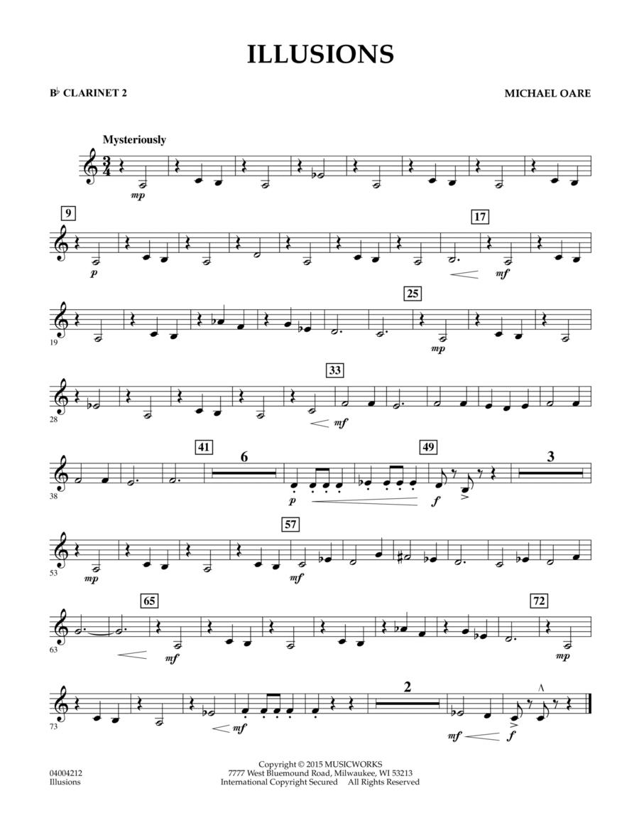 Illusions - Bb Clarinet 2