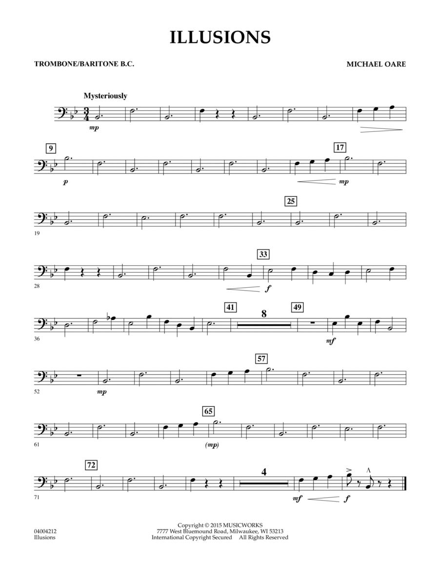 Illusions - Trombone/Baritone B.C.