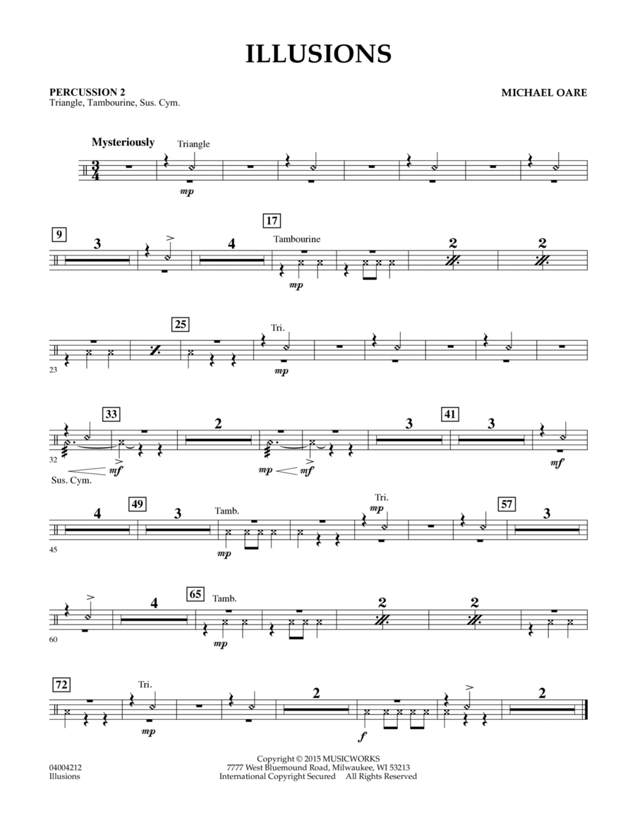 Illusions - Percussion 2