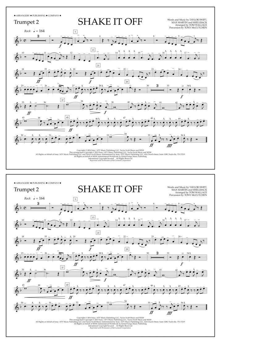 Shake It Off - Trumpet 2