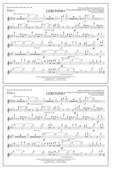 Geronimo - Flute 1