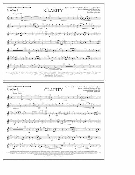 Clarity - Alto Sax 2
