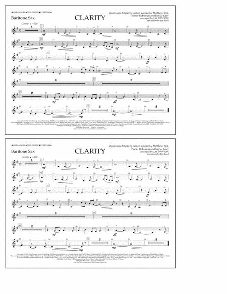 Clarity - Baritone Sax