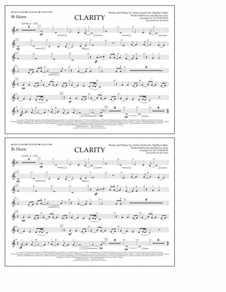 Clarity - Bb Horn