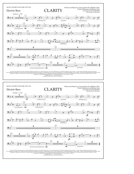 Clarity - Electric Bass
