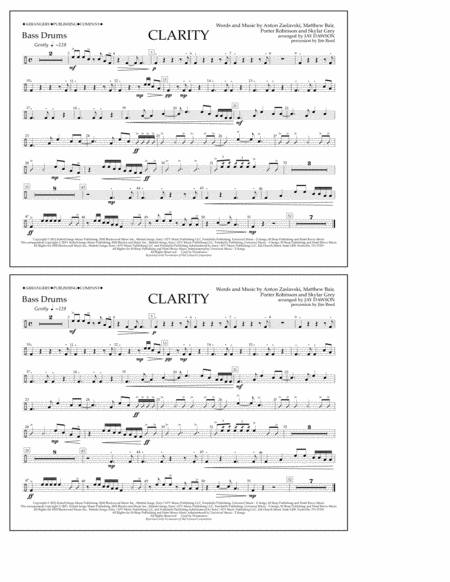 Clarity - Bass Drums