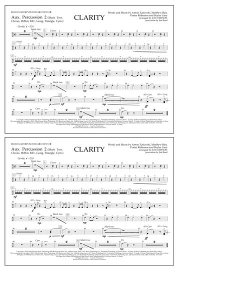 Clarity - Aux. Perc. 2