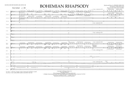 Bohemian Rhapsody - Full Score