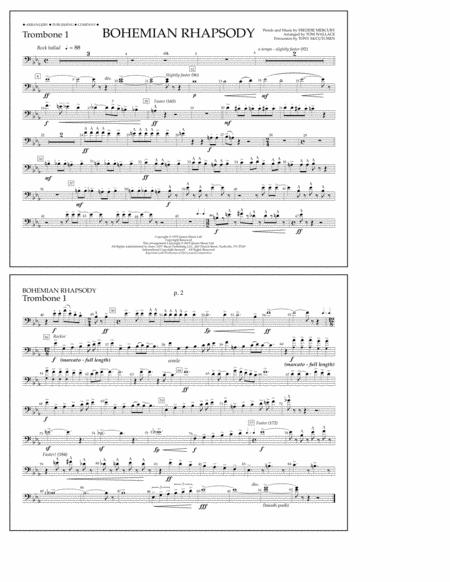 Bohemian Rhapsody - Trombone 1