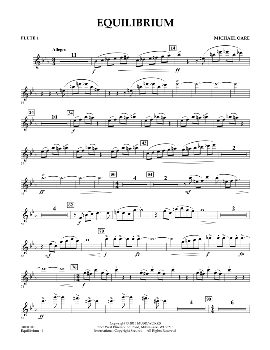 Equilibrium - Flute 1