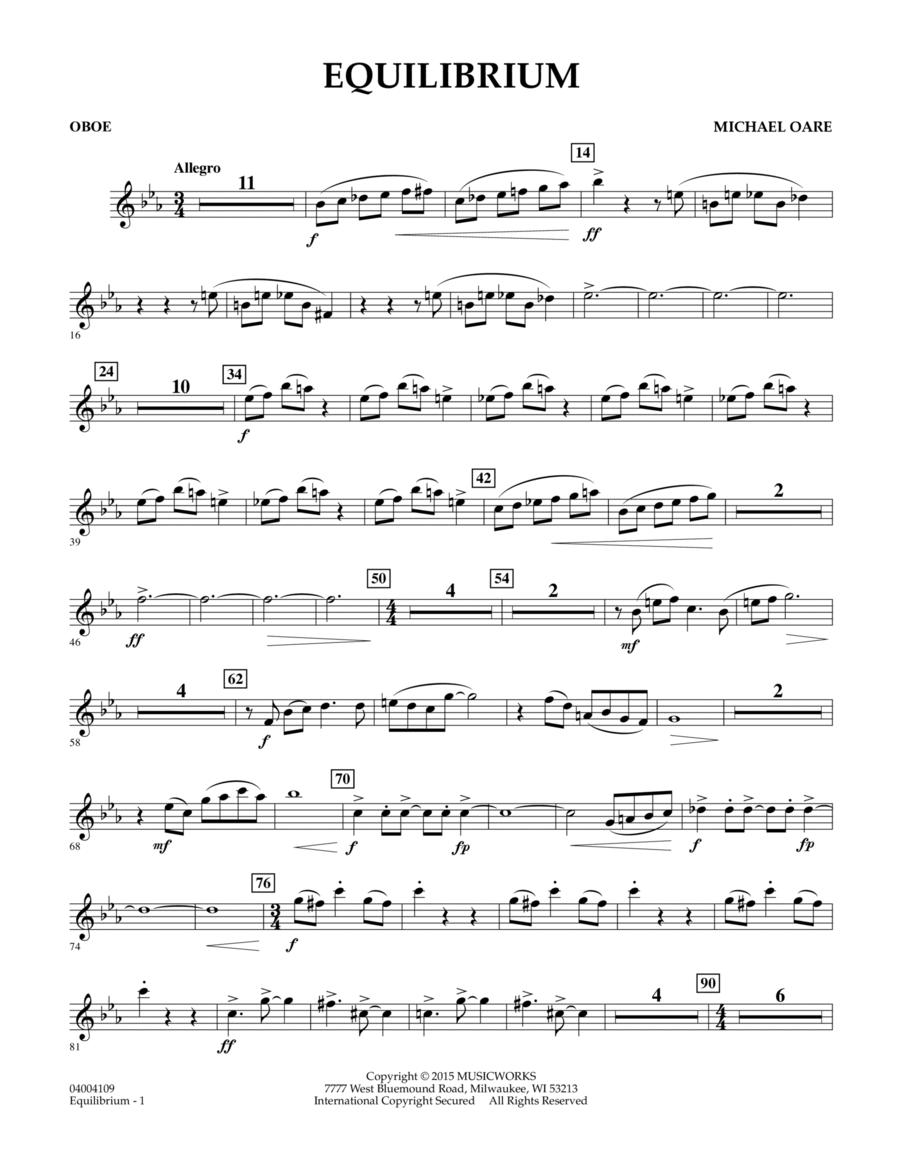 Equilibrium - Oboe