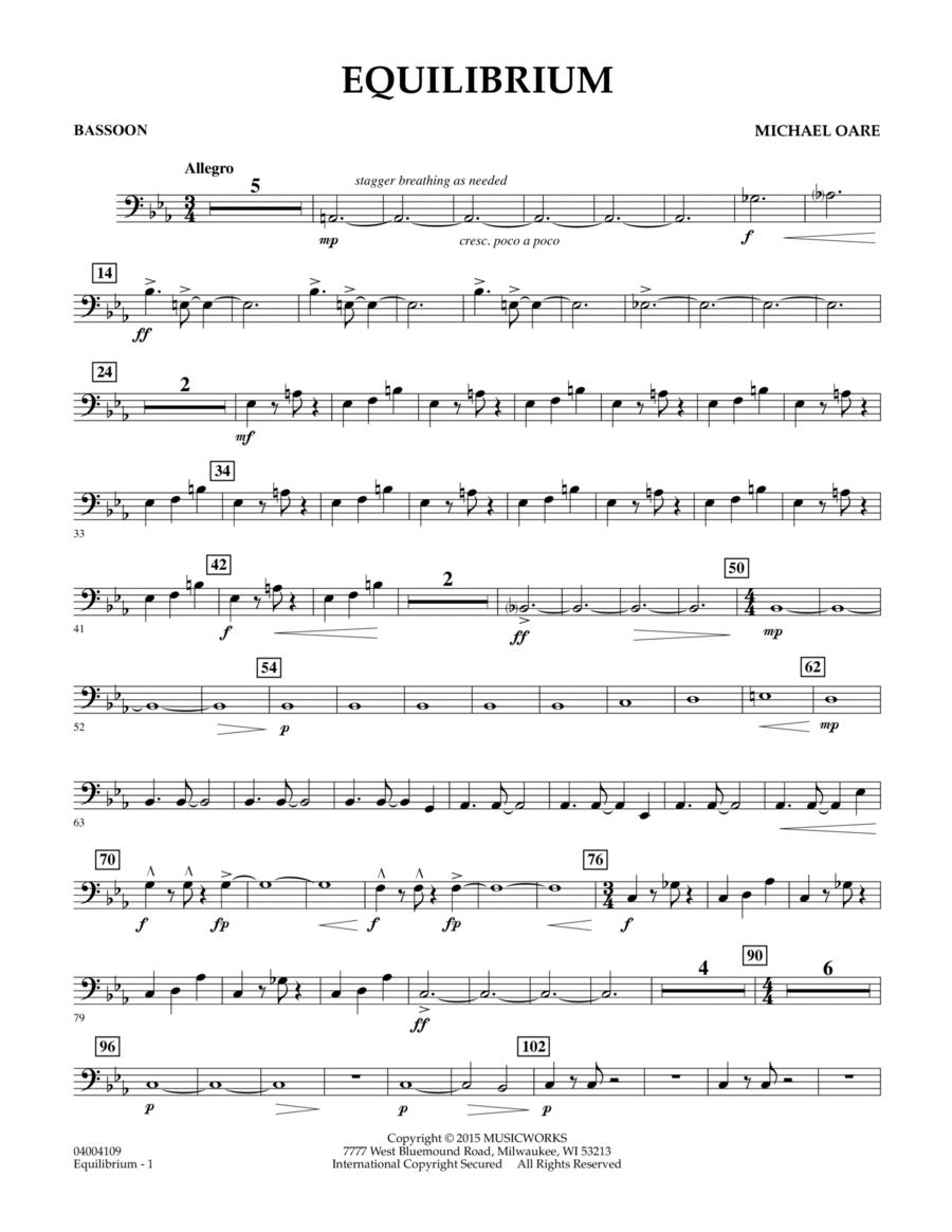 Equilibrium - Bassoon
