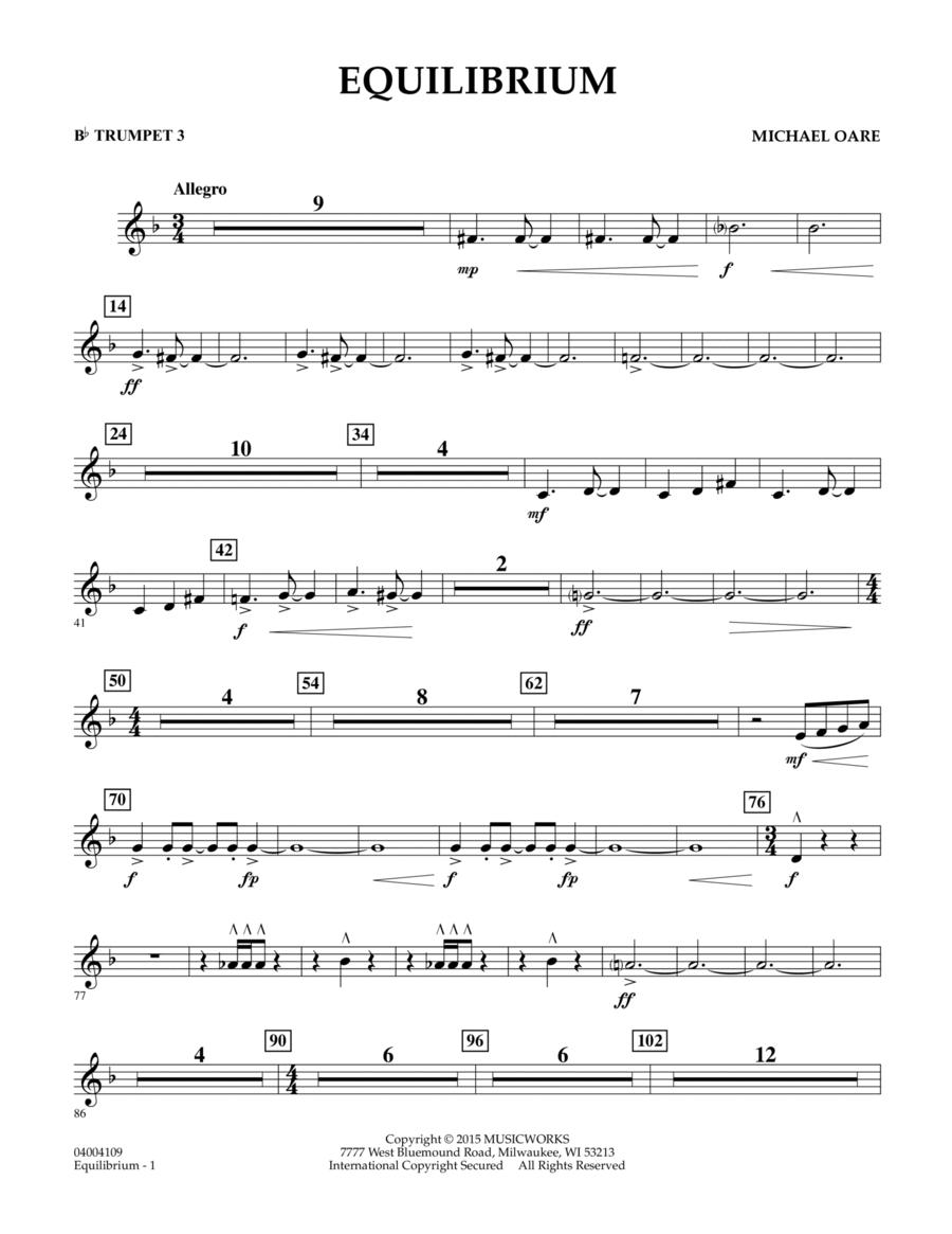 Equilibrium - Bb Trumpet 3