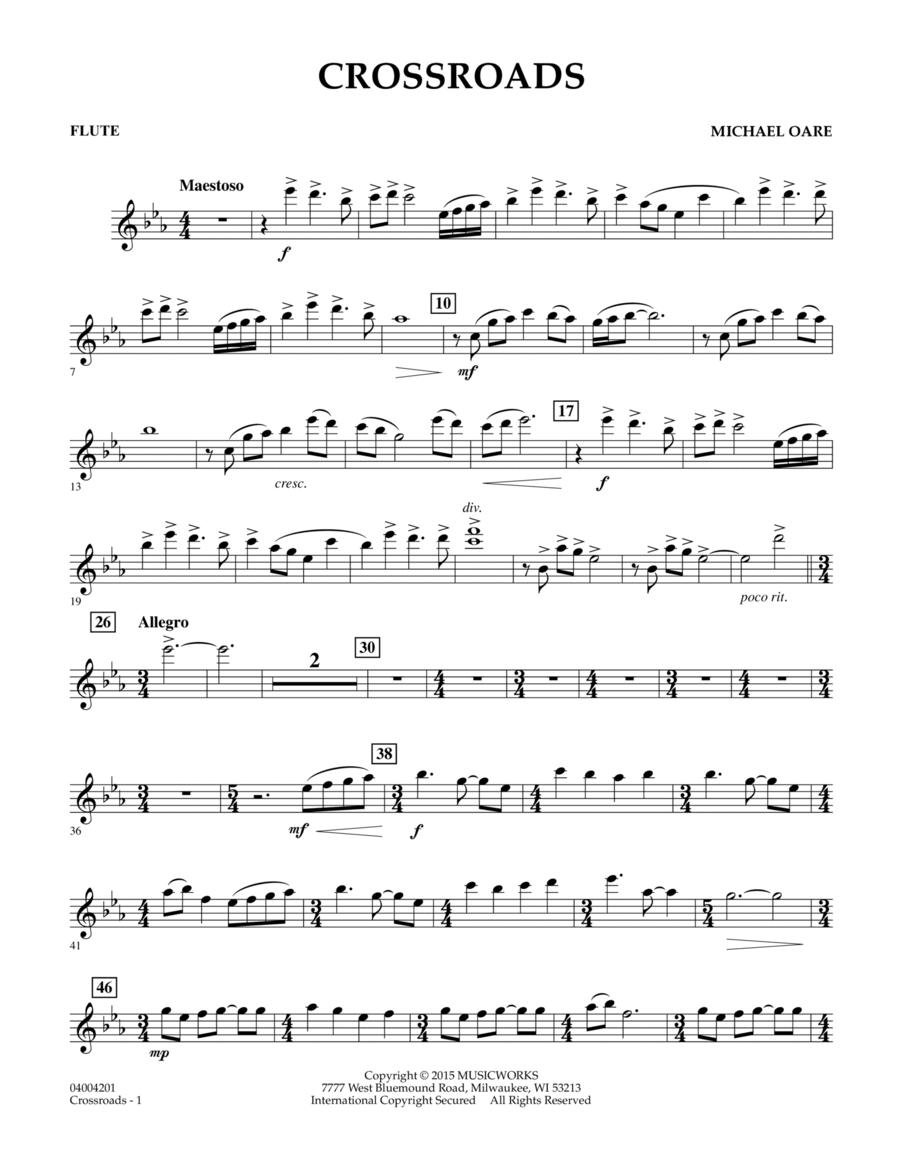 Crossroads - Flute