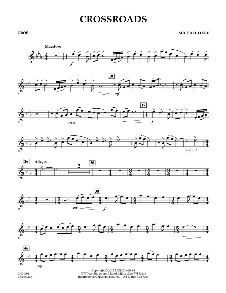 Crossroads - Oboe