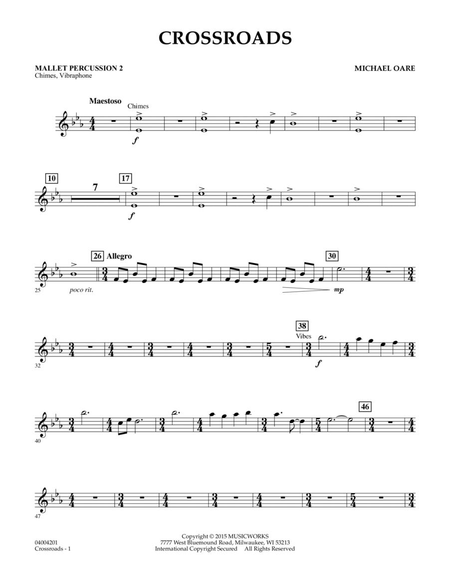 Crossroads - Mallet Percussion 2