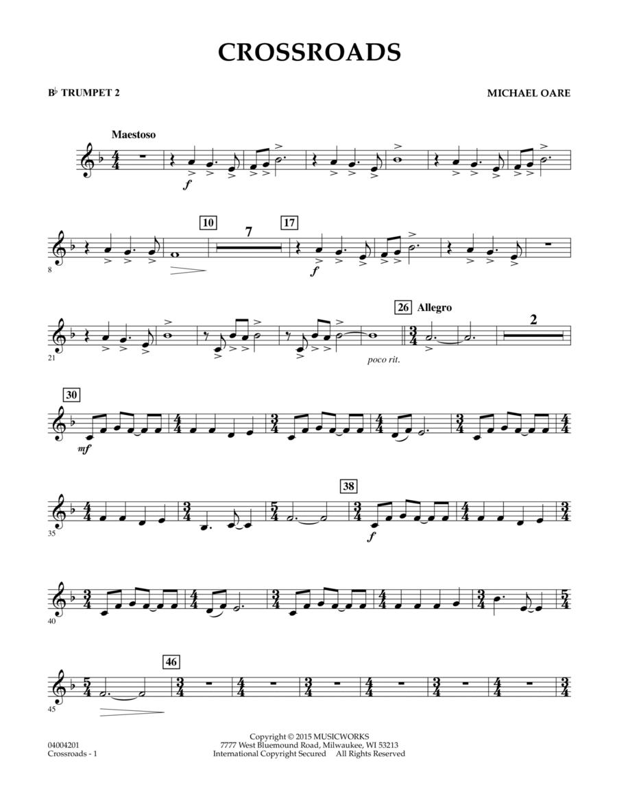 Crossroads - Bb Trumpet 2