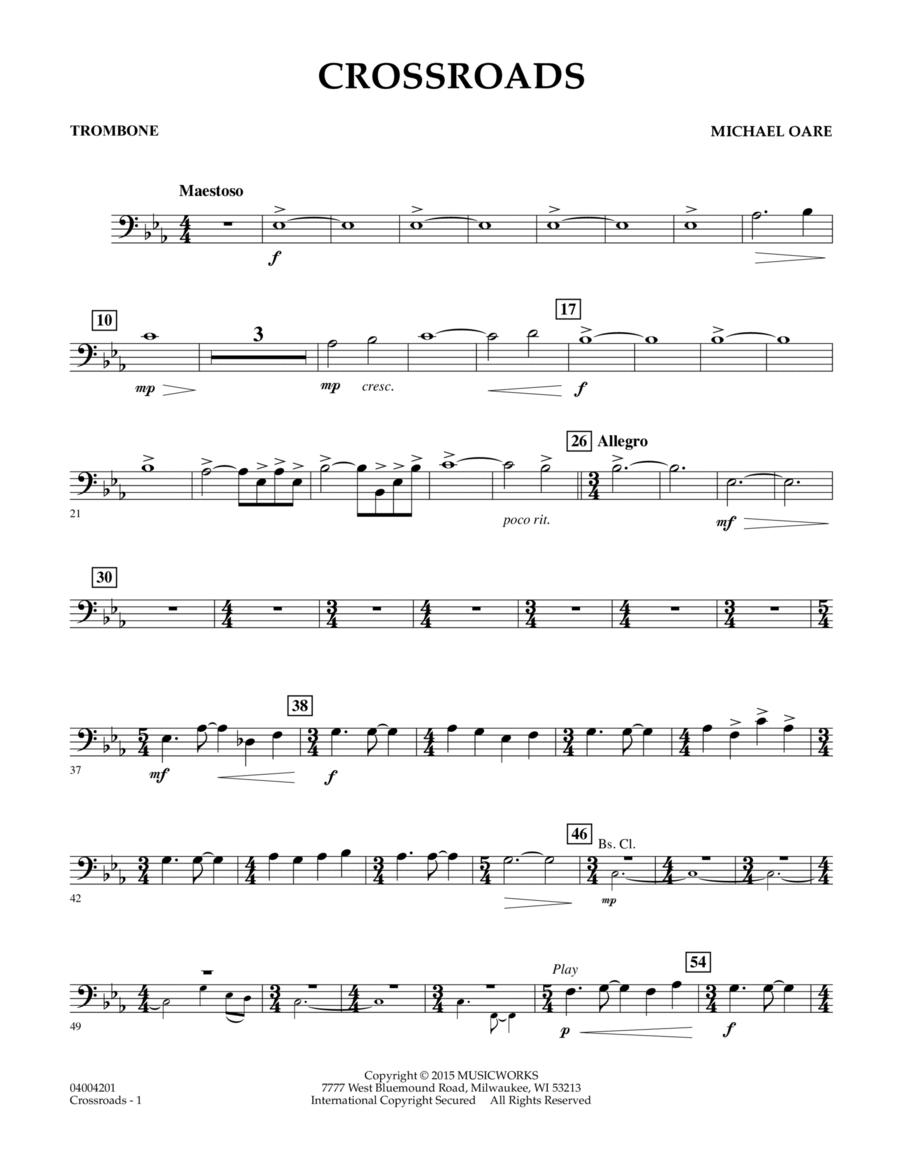 Crossroads - Trombone