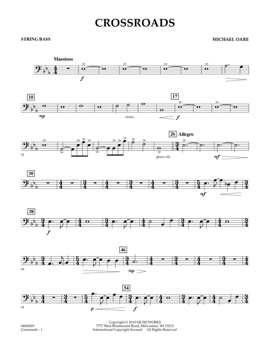 Crossroads - String Bass
