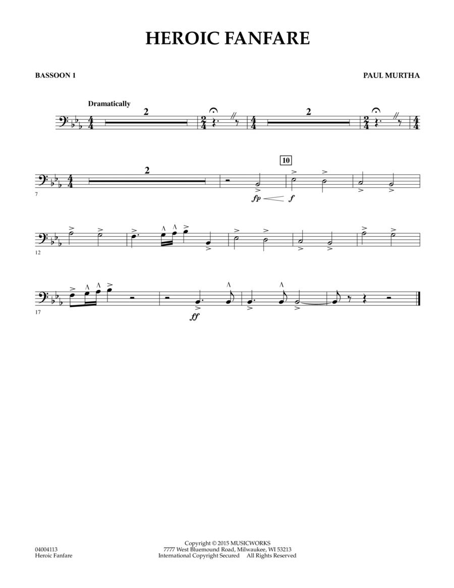 Heroic Fanfare - Bassoon 1