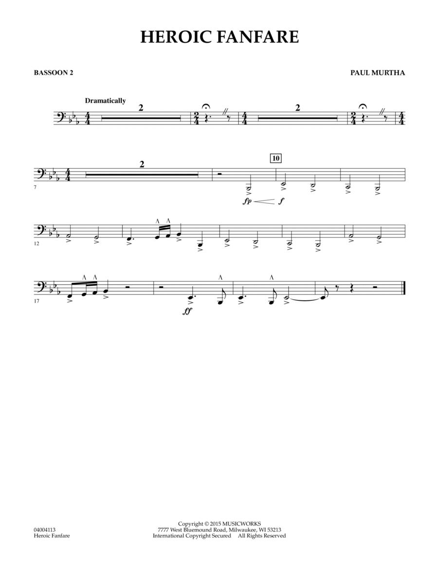 Heroic Fanfare - Bassoon 2