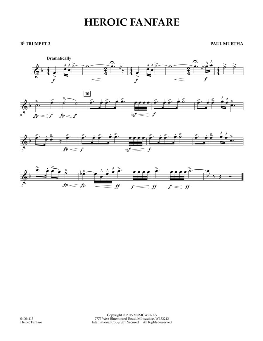 Heroic Fanfare - Bb Trumpet 2