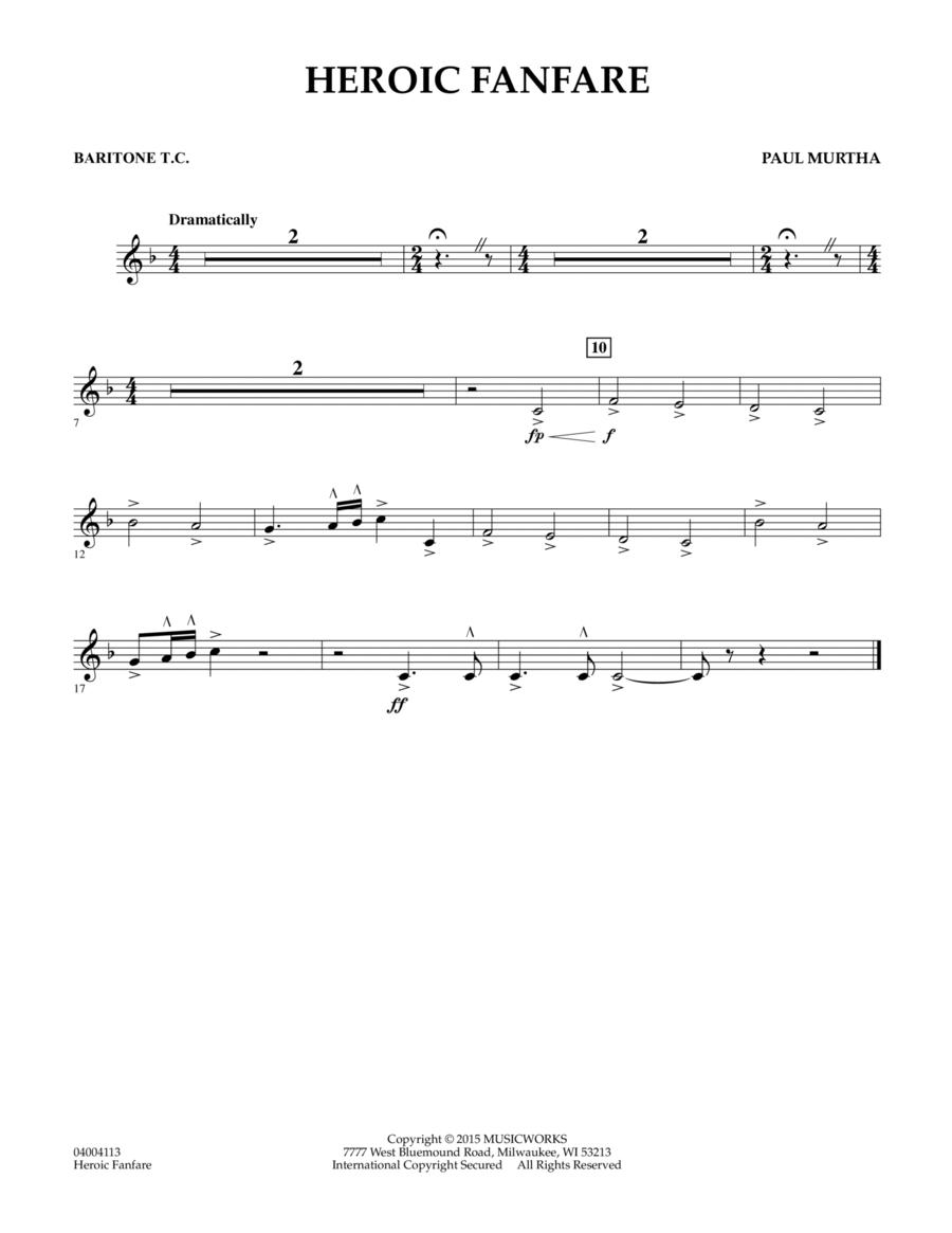 Heroic Fanfare - Baritone T.C.