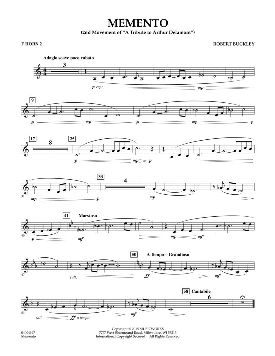 Memento - F Horn 2