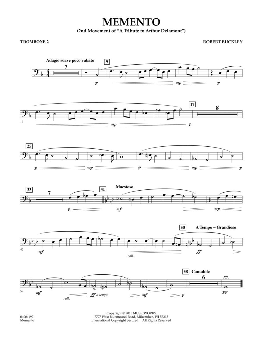 Memento - Trombone 2