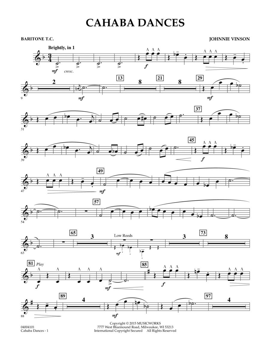 Cahaba Dances - Baritone T.C.