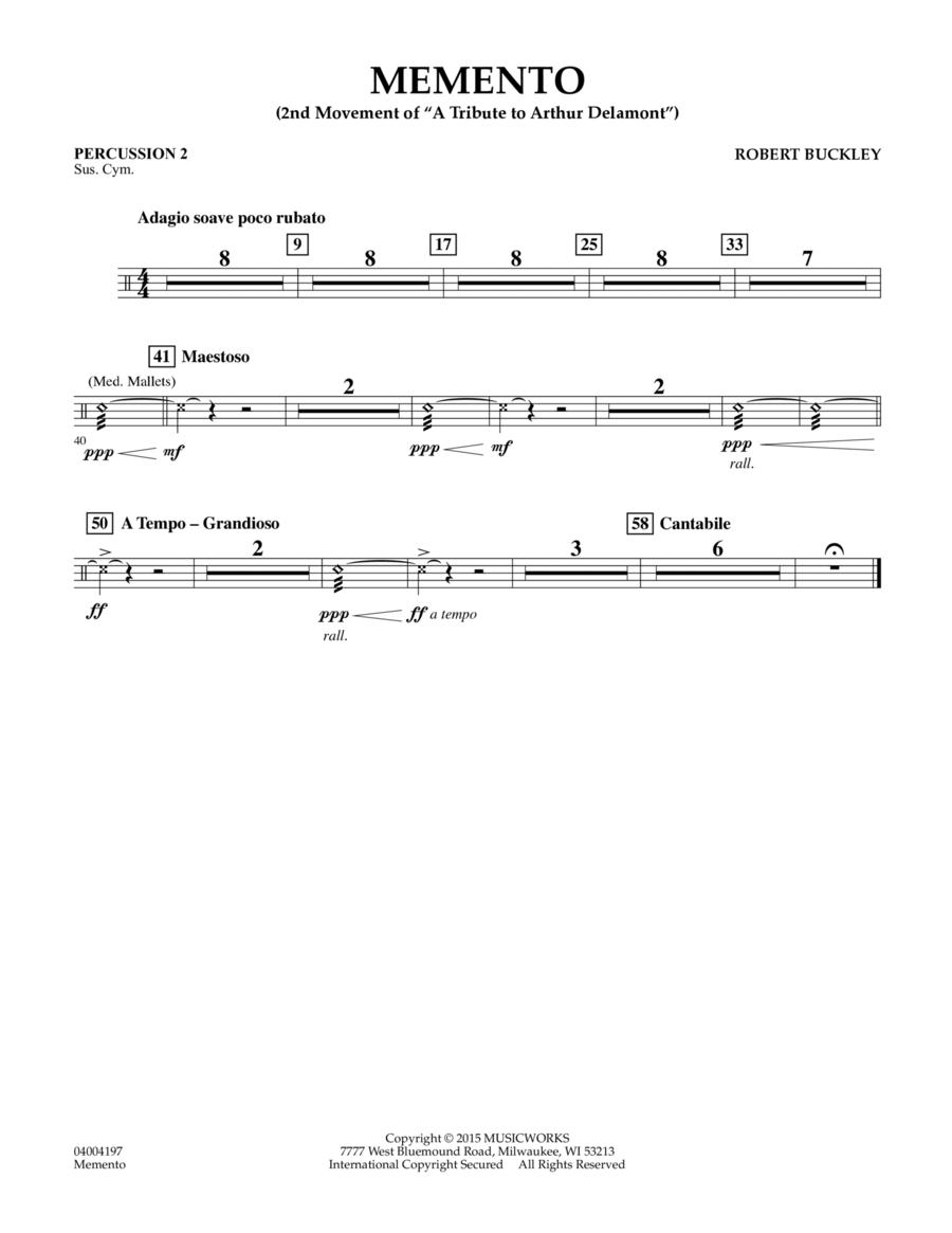 Memento - Percussion 2
