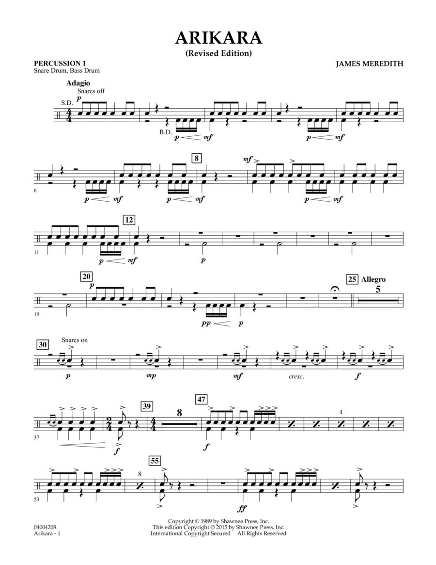 Arikara - Percussion 1