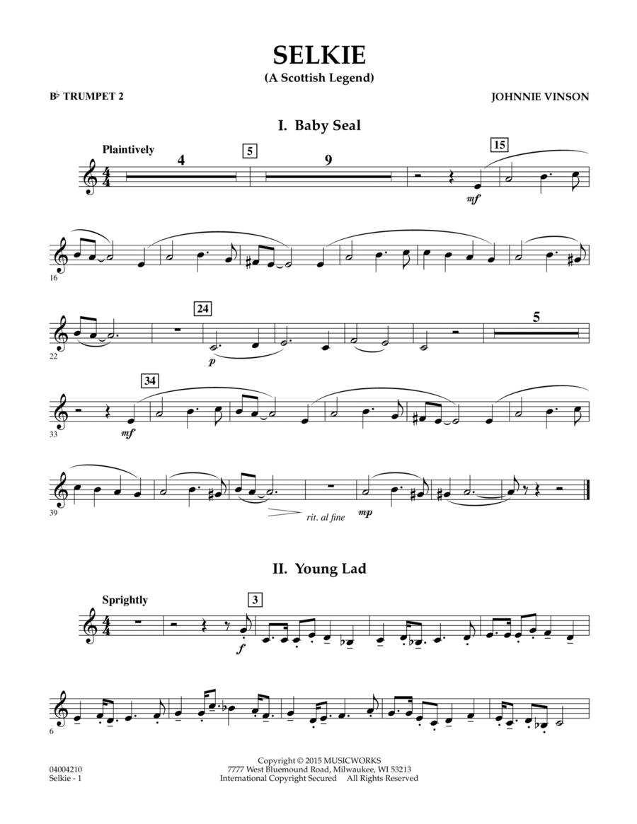 Selkie (A Scottish Legend) - Bb Trumpet 2