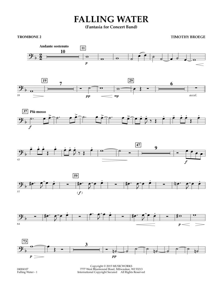 Falling Water - Trombone 2