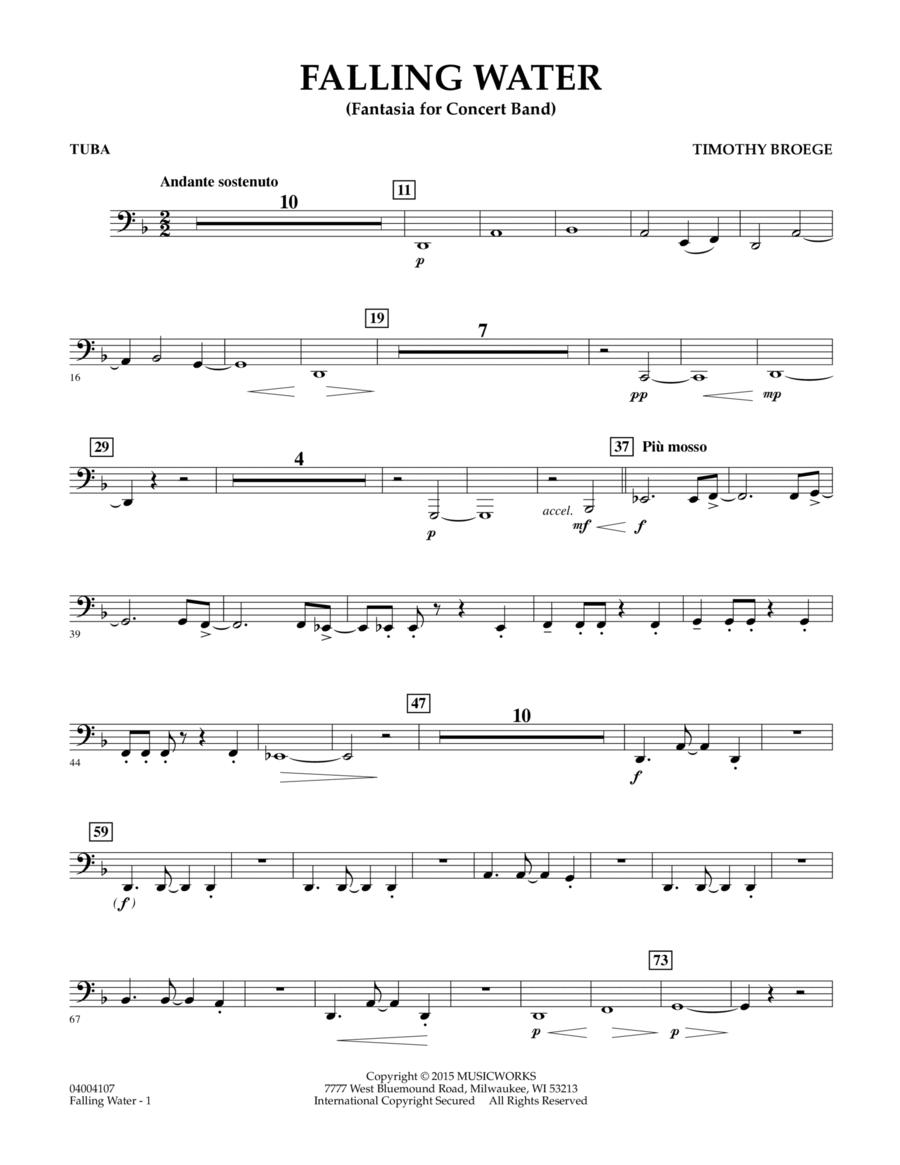 Falling Water - Tuba