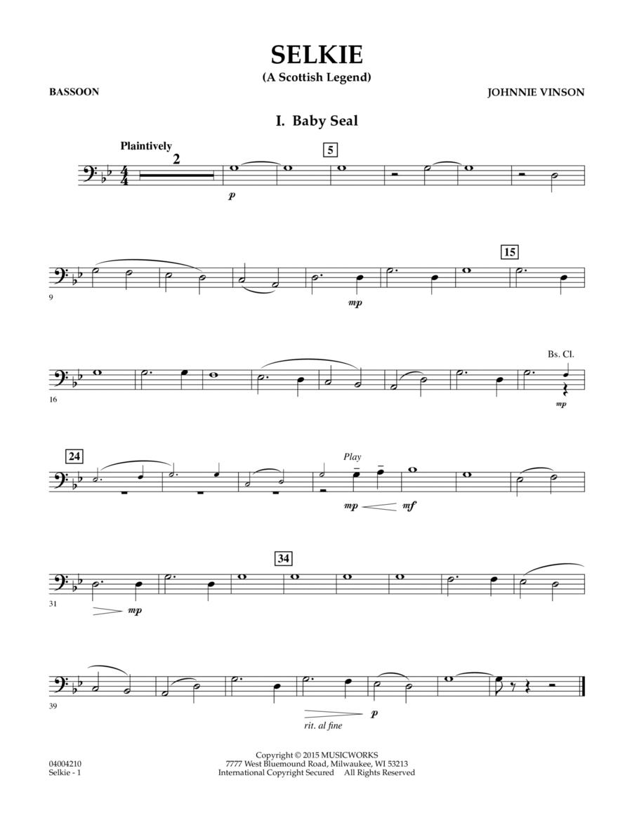 Selkie (A Scottish Legend) - Bassoon