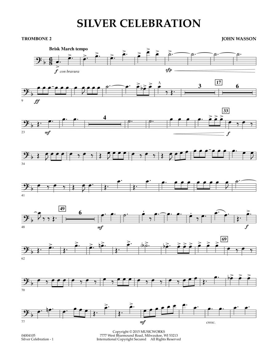 Silver Celebration - Trombone 2