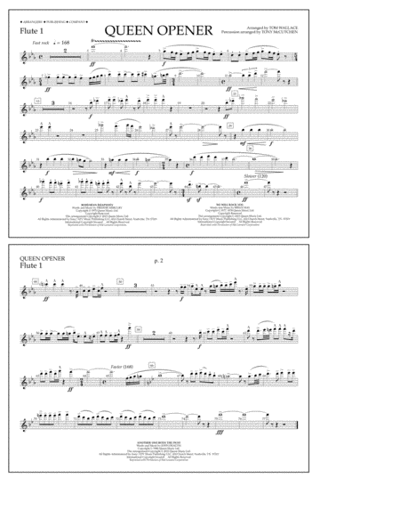 Queen Opener - Flute 1