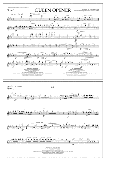 Queen Opener - Flute 2